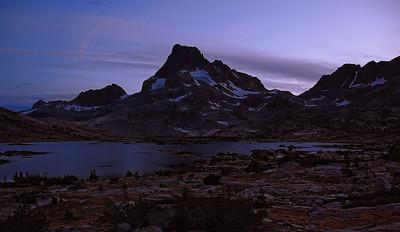 Mt. Banner shining at night