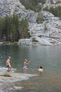 High Sierra Mermaids in Blue Lake.