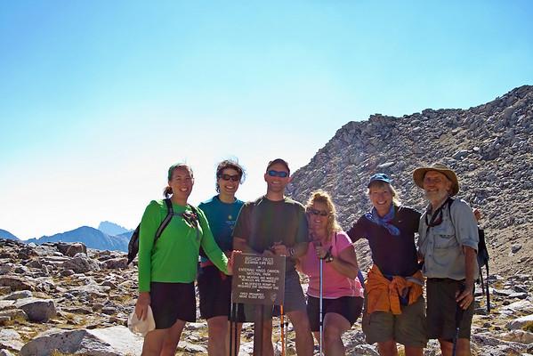 At Bishop Pass, 12000 feet.