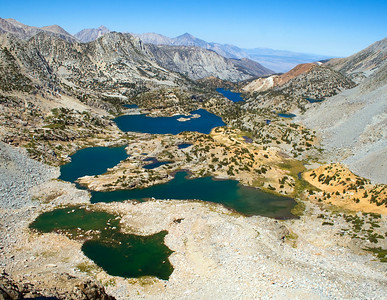 Our aerial photo of Bishop Creek Basin.