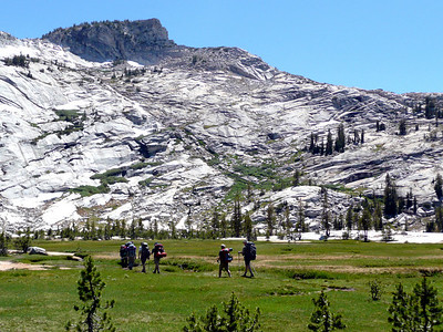 Entering the Cathedral Lake Basin. 8-14-06