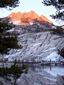 Alpen Glow on Echo Peaks.