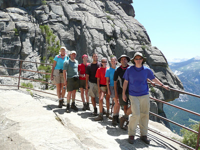 Atop Yosemite Falls. 6-14-07