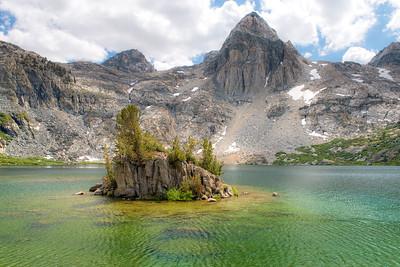 Upper Rae Lake Island