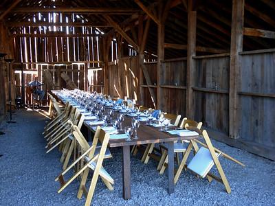 """Dinner in the Barn"" - ""Sierra Valley Farms"" 09-08-2013"