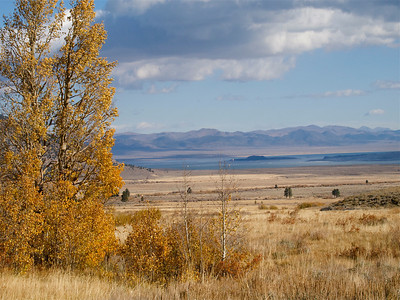 Mono Lake from Parker Lake Road Copyright 2009 Neil Stahl