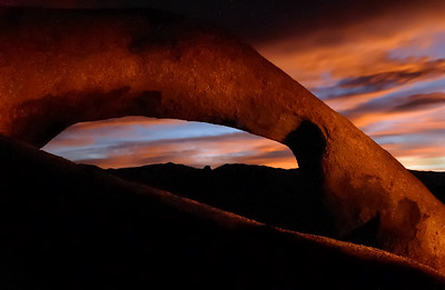 Arch at Sunrise - Alabama Hills