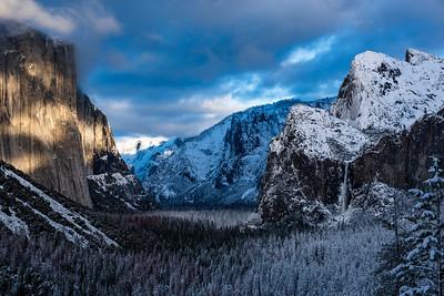 Yosemite in White