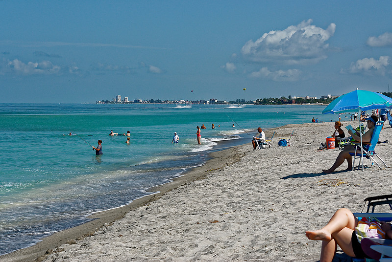 NorthWest to Siesta Beach - Siesta Key Florida