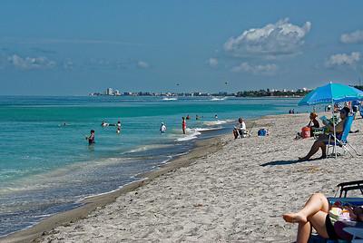 NorthWest to Siesta Beach - Siesta Key Florida