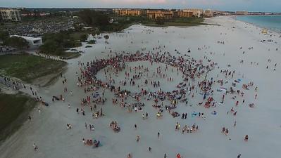 Drum Circle - Siesta Key Florida