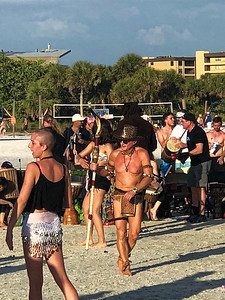 Drum Circle Dundee - Siesta Key Florida