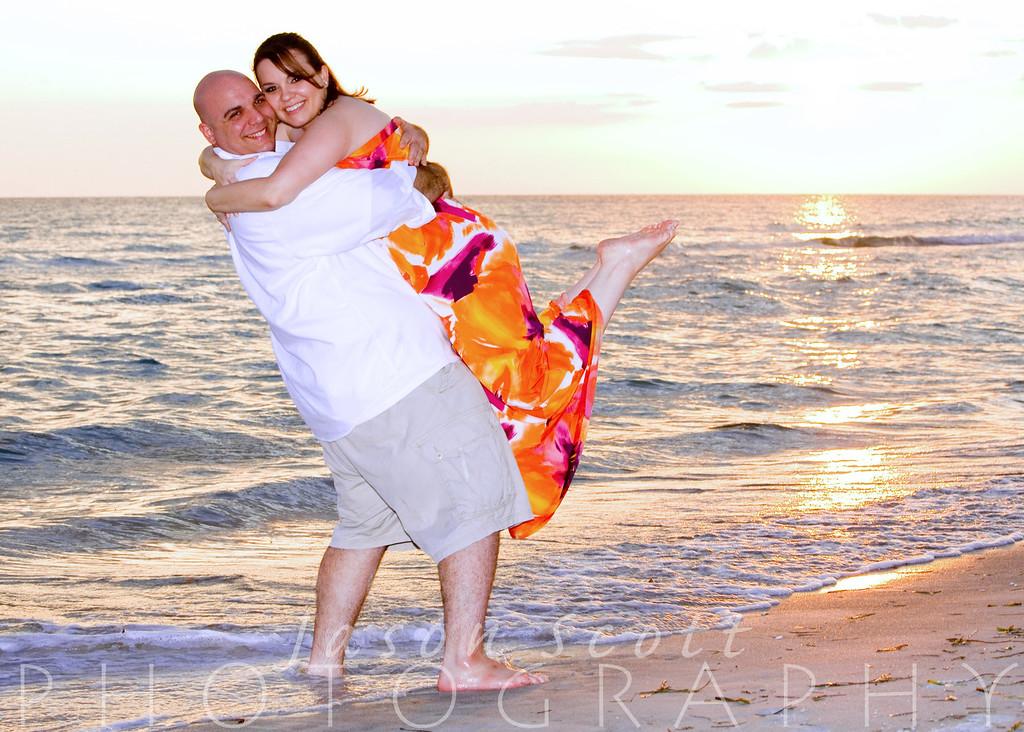Adam and Lisa on Longboat Key, July2011            Order Enlargements  16x20 $100.00   16x20 w/frame $200.00   20x30 $200.00   20x30 w/frame $350.00   24x36 $300.00   24x36 w/frame $500.00