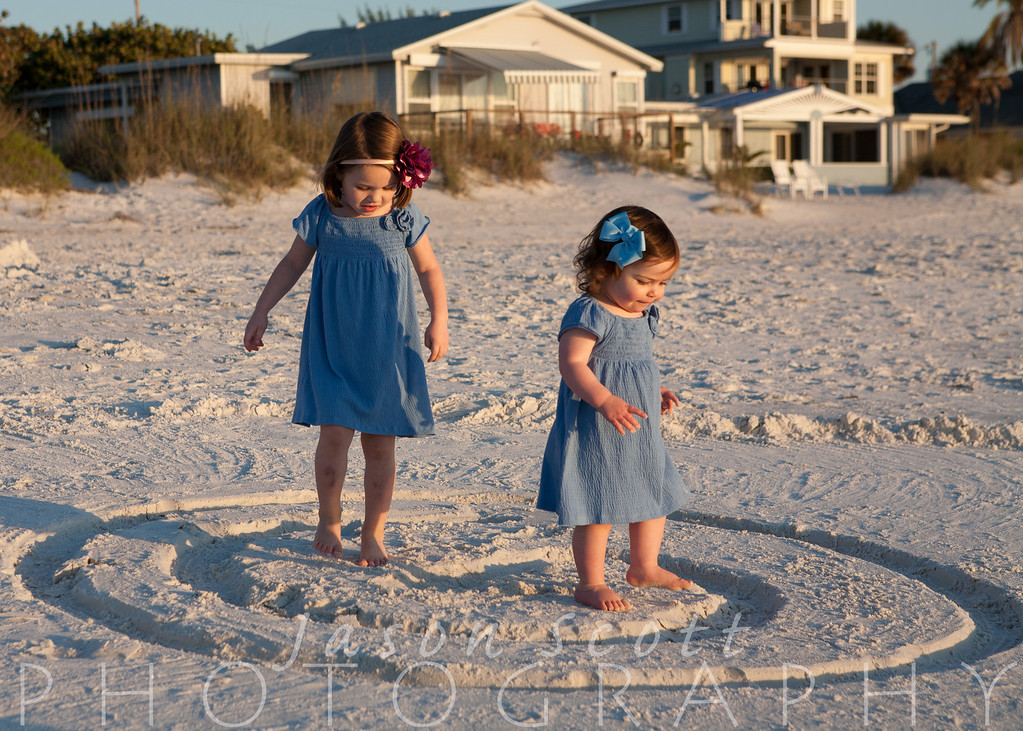 Ewing Family on Anna Maria Island, December 2011