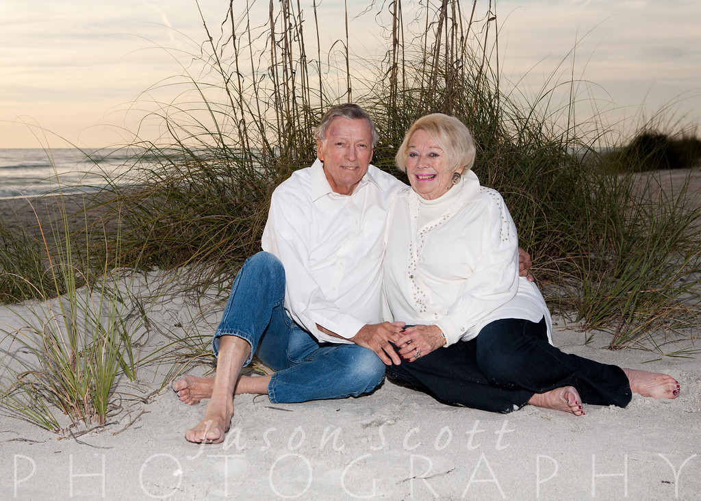 Haas Family on Longboat Key, December 2011