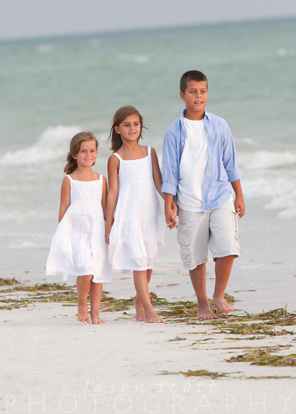 Rex Family on Siesta Key, August 2011            Order Enlargements  16x20 $100.00   16x20 w/frame $200.00   20x30 $200.00   20x30 w/frame $350.00   24x36 $300.00