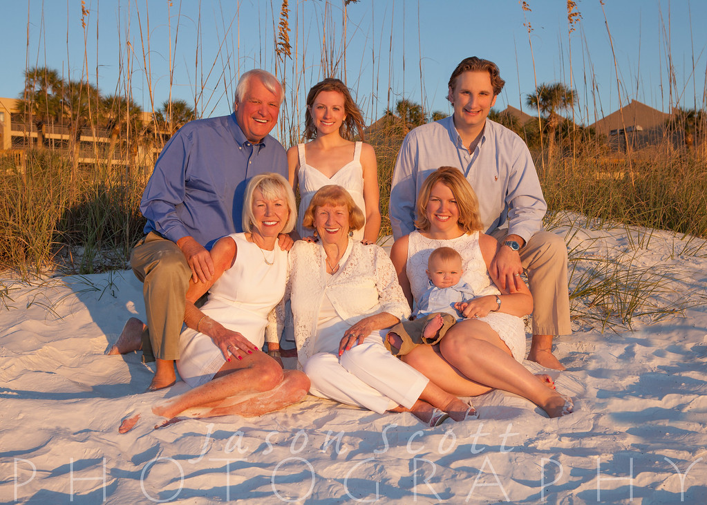 Aitken Family on Siesta Key, November 2012