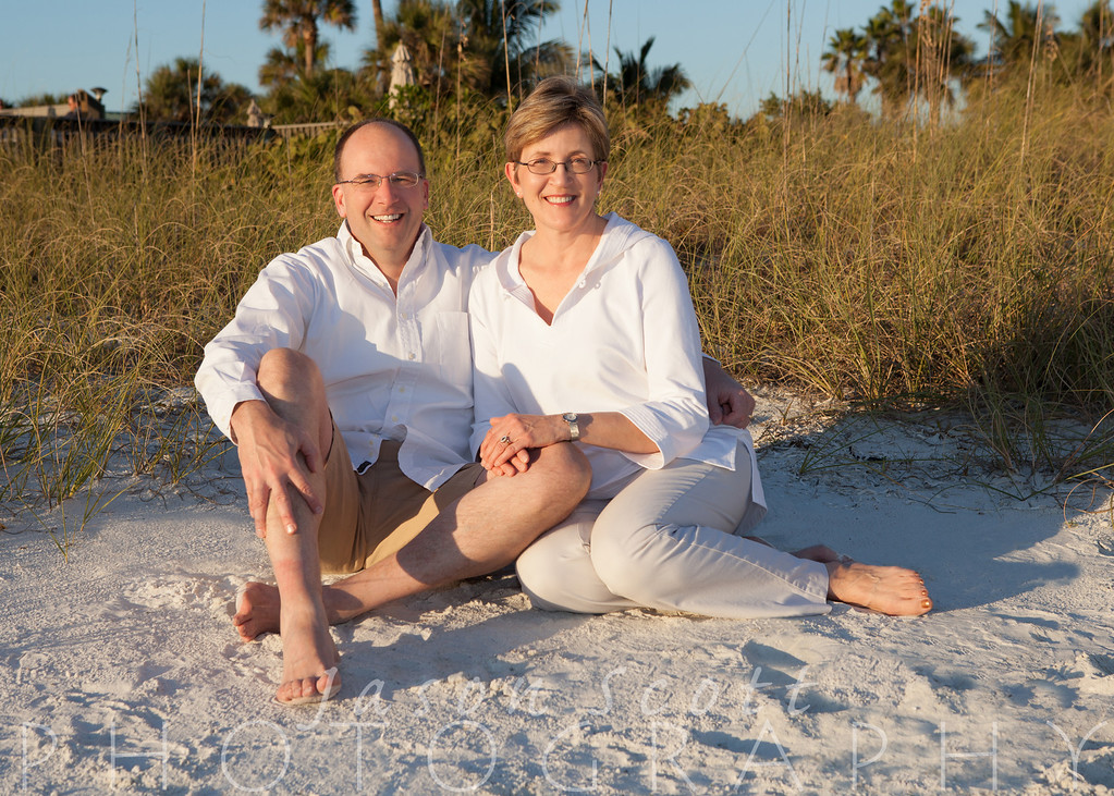 Arnold Family on Siesta Key, November 2012