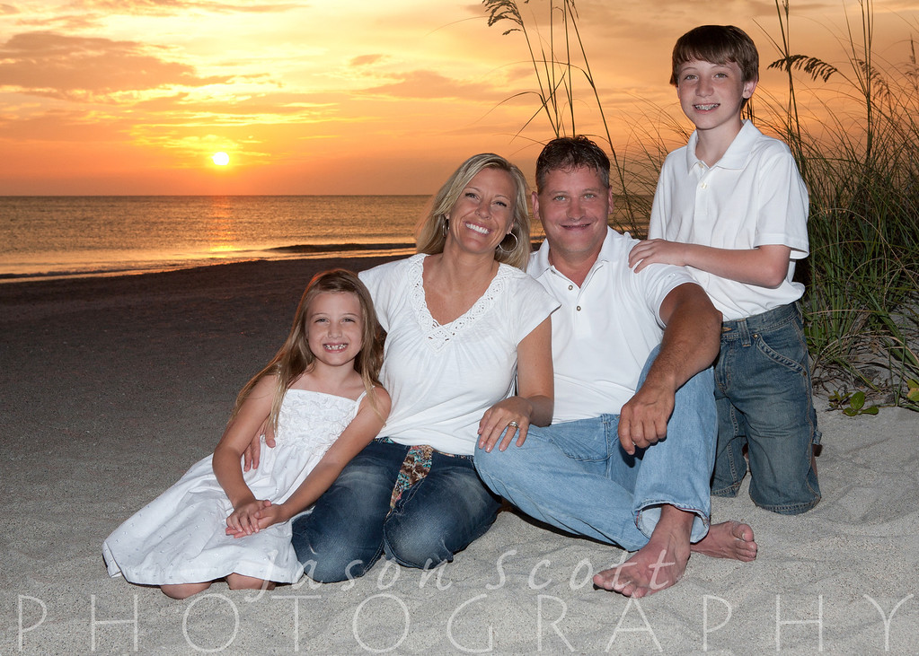 Boyle Family at Englewood Beach, June 2012