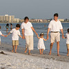 Kiley Family on Siesta Key, August 2012