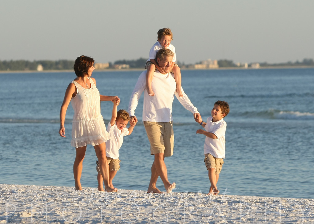 Maiolo Family on Siesta Key, October 2012