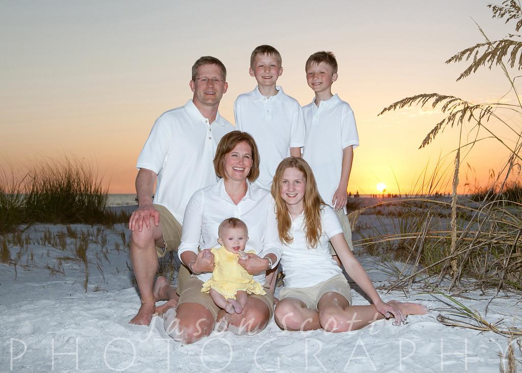 Handley Family on Siesta Key, April 2013