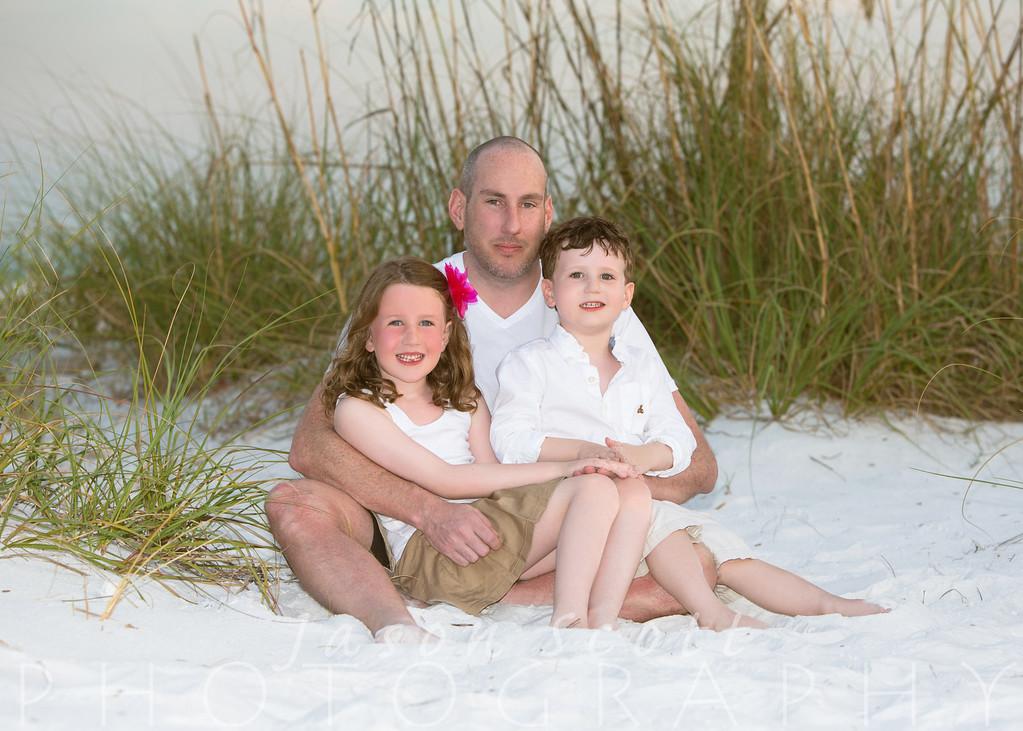 Moore Family on Siesta Key, April 2013