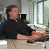 Marco<br /> Hard aan het werk!