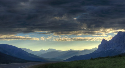 Early Summer Morning On the Haul Road (Dalton Hwy)