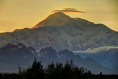 Denali - the Great One - from just outside Talkeetna.