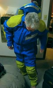 Aerostich Roadcrafter one-piece suit.