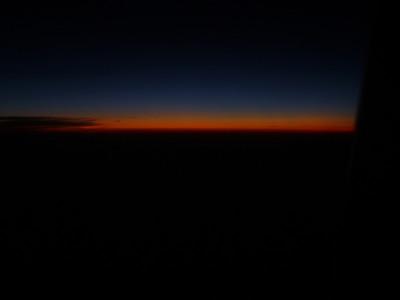 Sun Below the Eastern Horizon