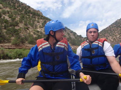 Rafting Royal Gorge, CO