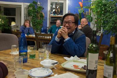 Prairie States Mushroom Club Winter dinner at Montebello Inn
