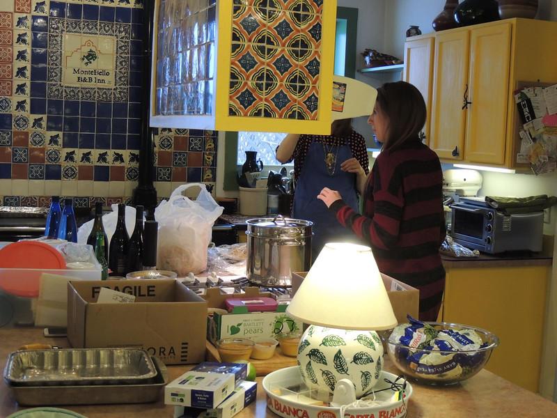 Prairie States Mushroom Club Winter dinner at Montebello Inn.