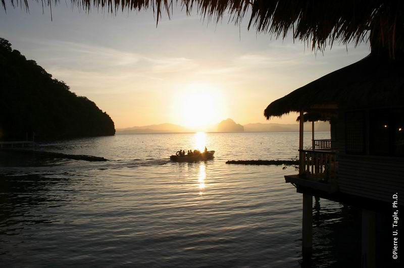 Early Start from Miniloc, El Nido, Palawan