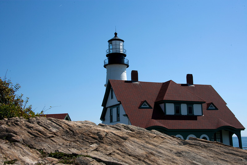 Portland Harbor Head Lighthouse