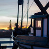 santa cruz sunset boat