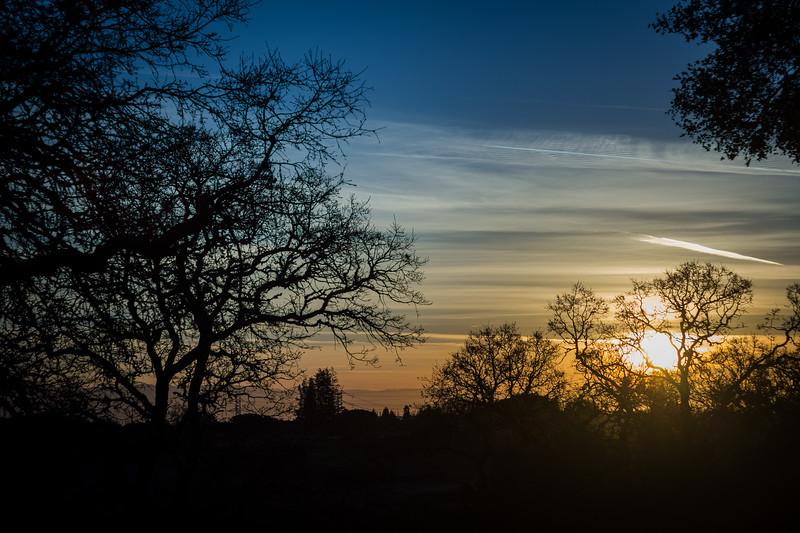 sunrise over rancho san antonio