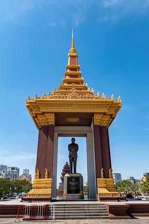 2019, Cambodia, Phnom Penh, King Norodom Sihanouk Memorial