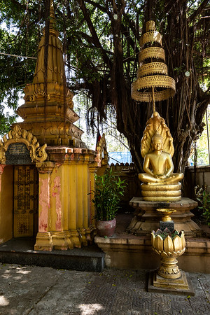 2019, Cambodia, Phnom Penh, Wat Botum Vatey