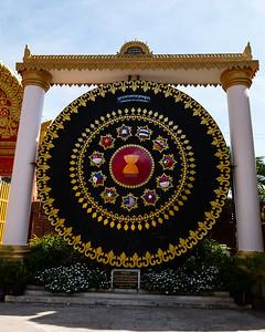 2019, Cambodia, Phnom Penh,Ounalom Pagoda