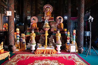 2019, Cambodia, Phnom Penh, Wat Moha Montrei