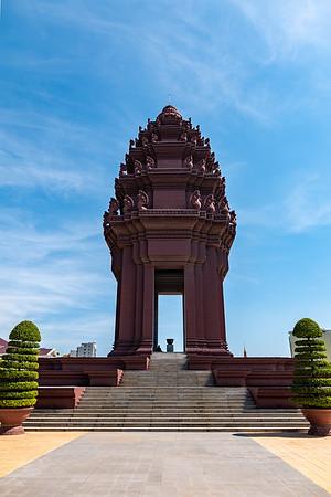 2019, Cambodia, Phnom Penh, Independence Monument