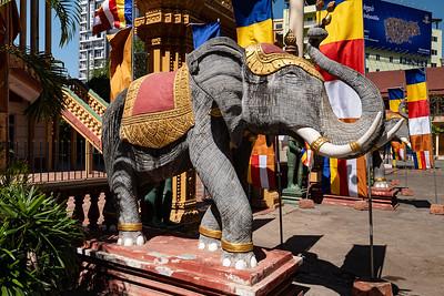 2019, Cambodia, Phnom Penh, Preah Pouth Mean Bon Pagoda