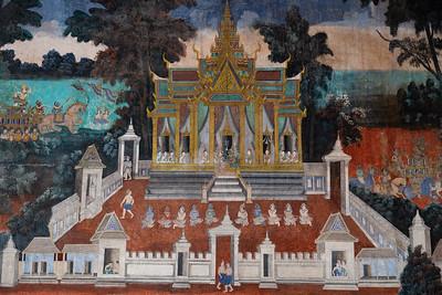 2019, Cambodia, Phnom Penh, Silver Pagoda