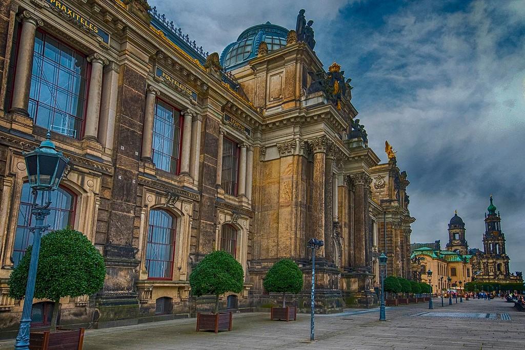 Bruhl's Terrace, Dresden