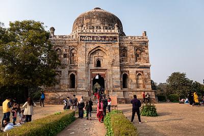 2019, India, New Delhi, Lodi Gardens, Bada Gumbad