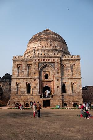 2019, India, New Delhi, Lodi Gardens, Shish Gumbad