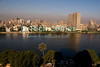 "Cairo, Egypt -- Nile River view:  A morning view to the west across the Nile, from a balcony at the Conrad hotel. © Rick Collier / RickCollier.com.<br /> <br /> <br /> <br /> <br /> <br /> travel; vacation; tour; tourism; tourist; destination; Egypt; Cairo; city; view; Nile; River; ""Nile River""; cityscape;"